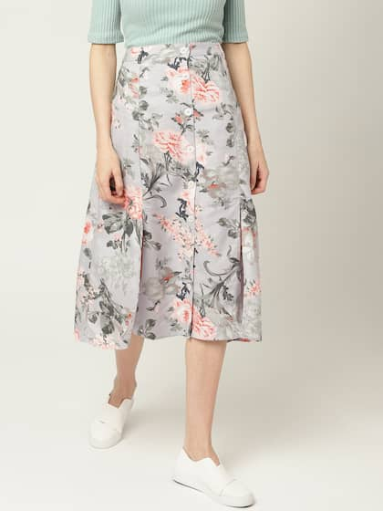 6935f98dcb Printed Skirts - Buy Printed Skirts Online in India