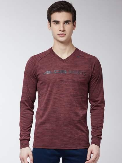 d7c90bc2a4a7 Long Sleeves T-Shirts - Buy Full Sleeves T-shirt Online | Myntra