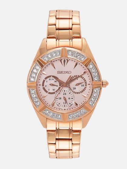 a1ed59eff Seiko Watches - Buy Seiko Watch for Men & Women Online | Myntra
