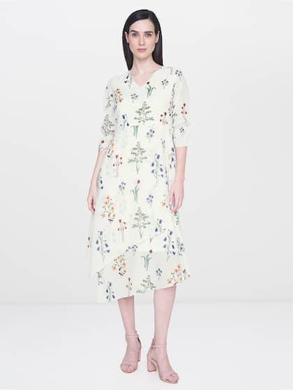 5f3843052621 White Dress - Buy White Dresses from Women & Girls Online | Myntra