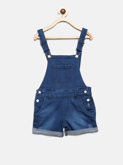 649b0a2d9 Girls Dungarees - Buy Girls Dungarees online in India