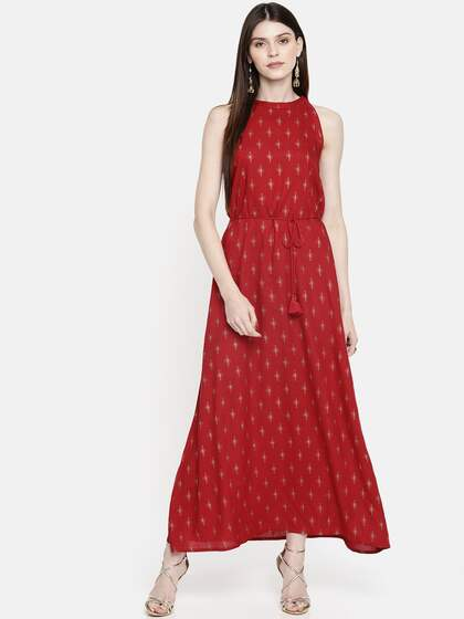 af2151ddbd631 Long Dresses - Buy Maxi Dresses for Women Online in India - Upto 70% OFF