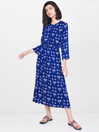 7de05e486e92 Midi Dresses - Buy Midi Dress for Women & Girl Online | Myntra