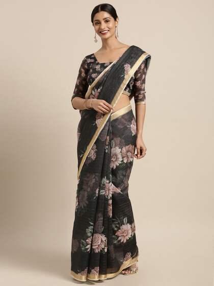 b8d49a4160da3b Chanderi Sarees - Buy Chanderi Sarees Online in India | Myntra