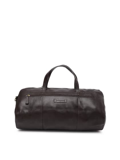 5dce1a9b1267 Hidesign. Men Solid Duffel Bag. Sizes: Onesize