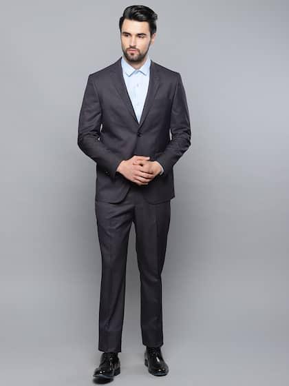 e792156ba Suits for Men - Buy Men Suit & Blazer Online | Myntra