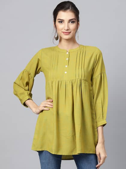 7b27a2531f Short Kurtis - Buy Short Kurti For Women Online in India