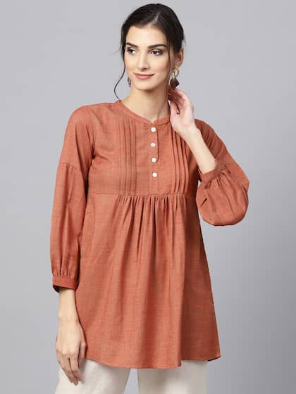 76bbcb0e27b2f Short Kurtis - Buy Short Kurti For Women Online in India