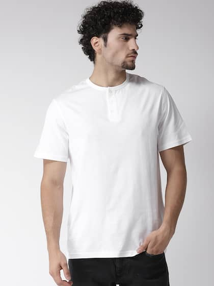 064d41fe Henley Tshirts - Buy Henley T-shirts for Men & Women Online - Myntra