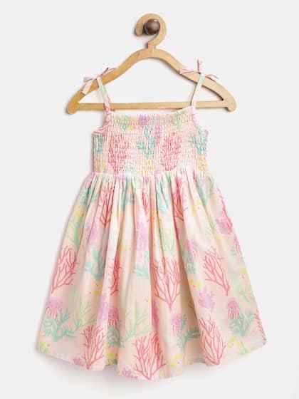 8bf1f17b45cf Girls Dresses - Buy Frocks & Gowns for Girls Online | Myntra