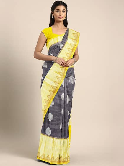 Tussar Sarees - Buy Pure Tussar Sarees Online in India | Myntra