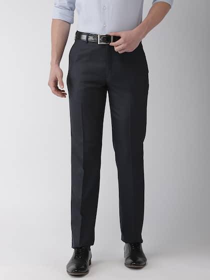 4f9e6b864fa8 Men Formal Trousers   Buy Men Formal Trousers Online in India
