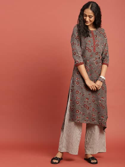 eae176a6679 Block Print Kurtas - Buy Block Print Kurtas online in India