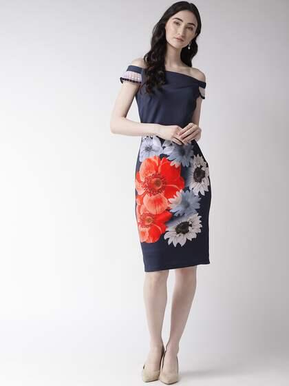 0e9a91bc5267 Off Shoulder Dress - Buy Off Shoulder Dresses Online | Myntra