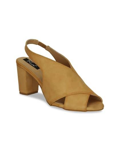 ee133aca623 Peep Toe Heels - Buy Peep Toe Heels Online in India