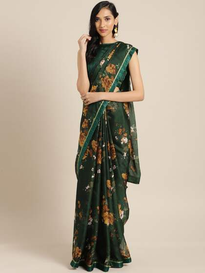 061f711b64 Georgette Sarees - Buy Georgette Saree Online in India   Myntra