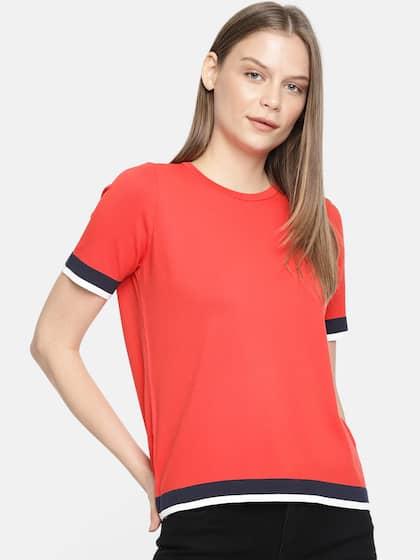 833e785f035269 T-Shirts for Women - Buy Stylish Women's T-Shirts Online | Myntra