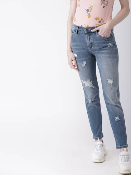 5aa1becbec14dc Ripped Jeans - Shop for Ripped Jeans Online in India | Myntra