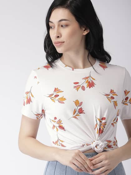 833e785f035269 T-Shirts for Women - Buy Stylish Women's T-Shirts Online   Myntra