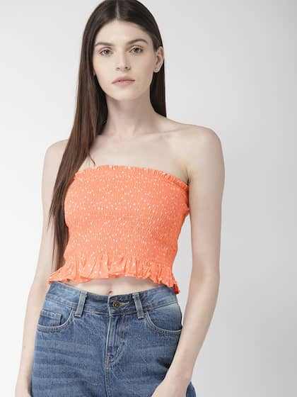 88b21381 Crop Tops - Buy Crop Tops Online - Myntra