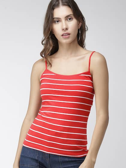 1370a532 Striped Tops - Buy Trendy Striped Tops Online | Myntra