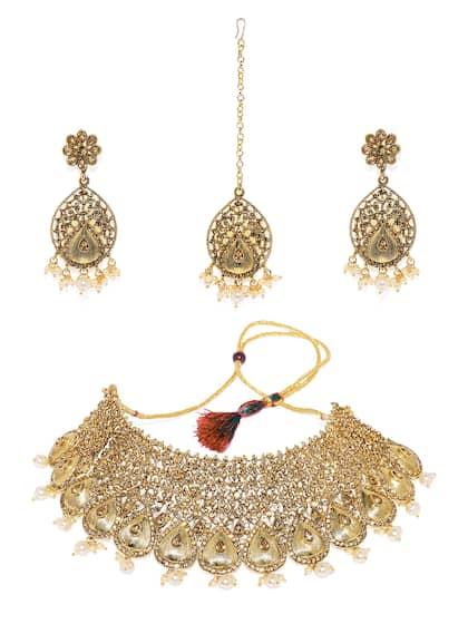 4aa46752a1a Diamond Jewellery - Shop for Diamond Jewellery Online   Myntra