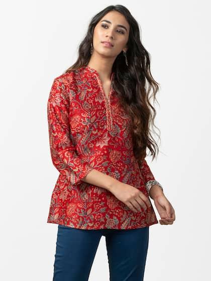 4a8b0dcc7087 Short Kurtis - Buy Short Kurti For Women Online in India