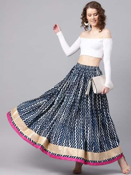 05e19b4c82 Ethnic Long Skirts - Buy Ethnic Long Skirts Online | Myntra