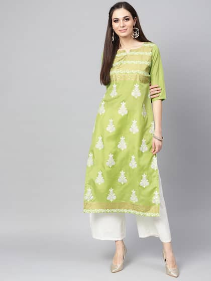 df9b7d28a7e7ae Block Print Kurtas - Buy Block Print Kurtas online in India