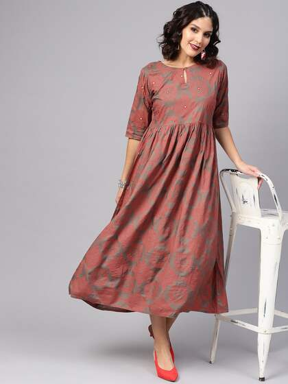 18d0ce43d1 Long Dresses - Buy Maxi Dresses for Women Online in India - Upto 70% OFF