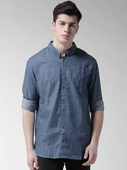8580114e5d Denim Shirts - Buy Denim Shirts for Men Online in India