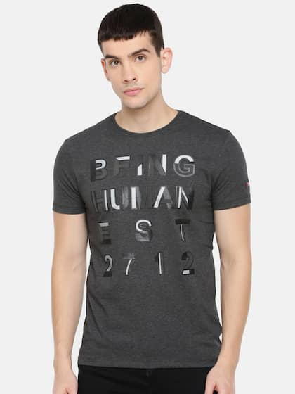 4915bd4d6 Buy Being Human T-Shirts Online For Men At Myntra