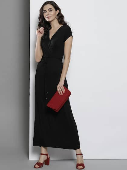 c2a46f63ea Long Dresses - Buy Maxi Dresses for Women Online in India - Upto 70% OFF