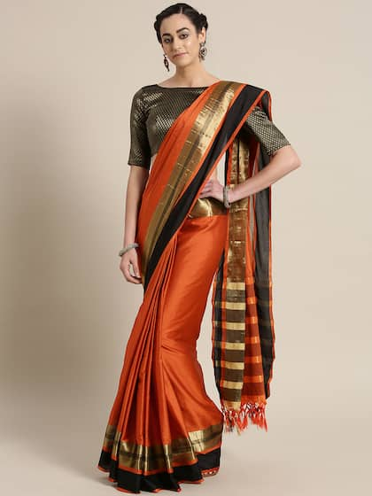 df0d0140ef Cotton Sarees - Buy Cotton Sarees Online in India | Myntra