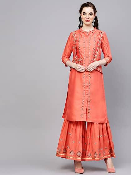 5ddf9a7edb Cotton Suits - Buy Cotton Suits For Men & Women Online   Myntra