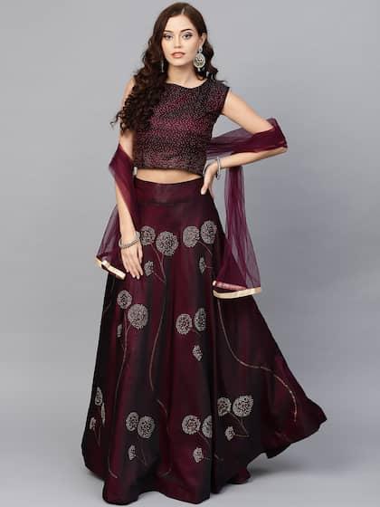 Jaipuri Lehenga - Buy Jaipuri Lehenga Choli Online   Myntra