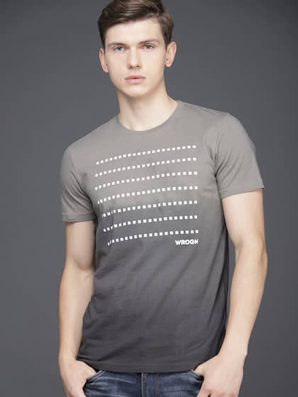 11011216bb84 Men T-shirts - Buy T-shirt for Men Online in India | Myntra