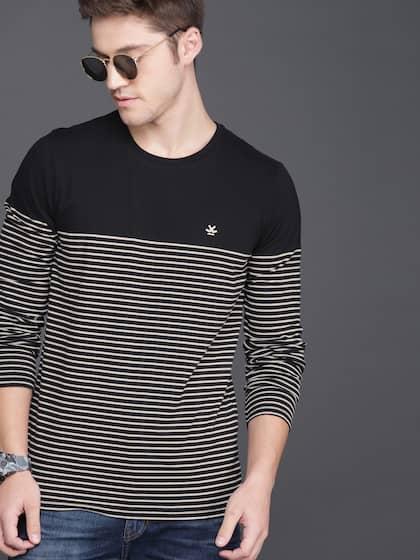 fd94b2bee3f2 Long Sleeves T-Shirts - Buy Full Sleeves T-shirt Online | Myntra