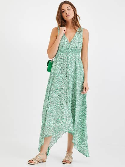e1741eb8c030 promod. Women Printed Fit and Flare Dress