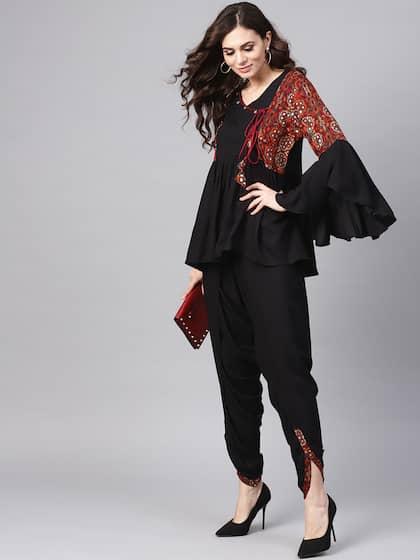 a21a2cd9df Black Salwar Suit   Buy Black Salwar Suit online in India