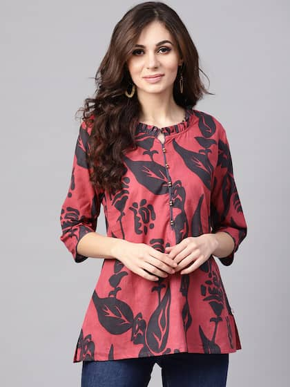 6db0fe623b469 Tunics for Women - Buy Tunic Tops For Women Online in India