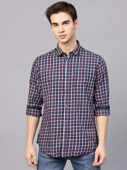 dc2c14cf7d7 Men Check Shirts - Buy Men Check Shirts online in India