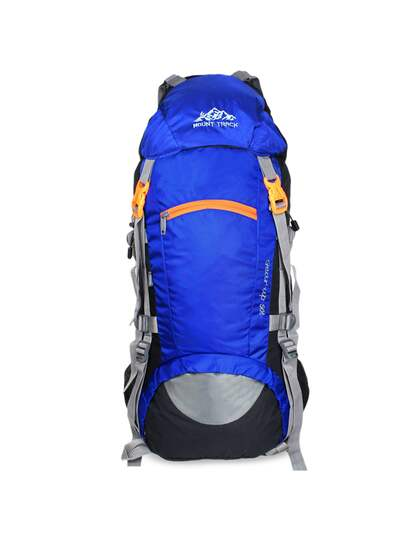 10a201cd6a Mount Track Unisex Blue Gear Up Rucksack 50 Litres with Rain Cover