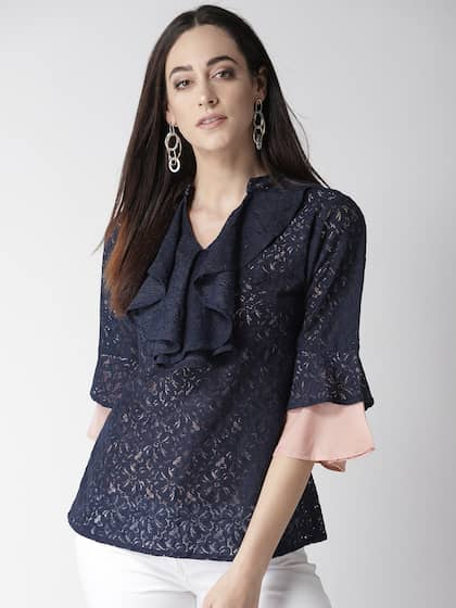 a1a384207d Lace Tops - Buy Lace Tops for Women & Girls Online in India | Myntra