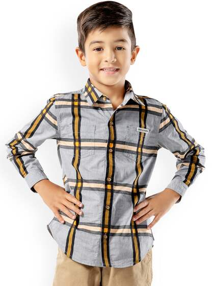 c50a974f4d4d9 Boys Shirts- Buy Shirts for Boys online in India