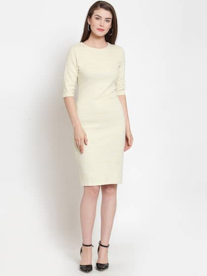 d04d27af7ca41 Bodycon Dress - Buy Stylish Bodycon Dresses Online | Myntra