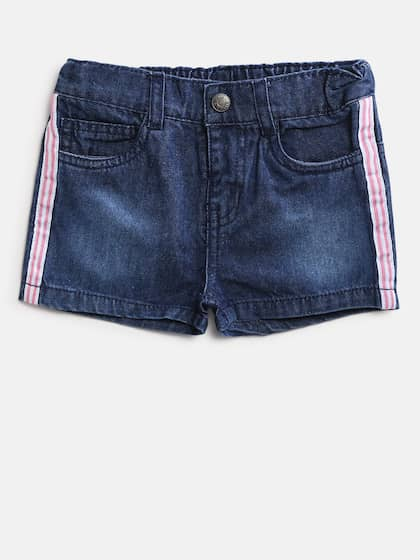 070a0d1053 Shorts For Girls- Buy Girls Shorts online in India - Myntra
