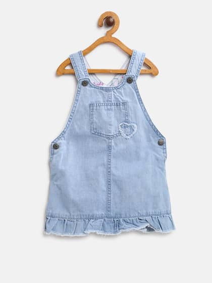 dfb7e4aa4d3 Pinafore Dress - Buy Pinafore Dresses Online in India | Myntra