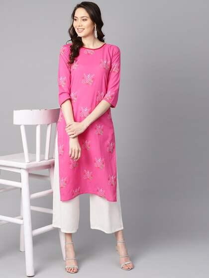 9f45357642 Kurtis Online - Buy Designer Kurtis & Suits for Women - Myntra