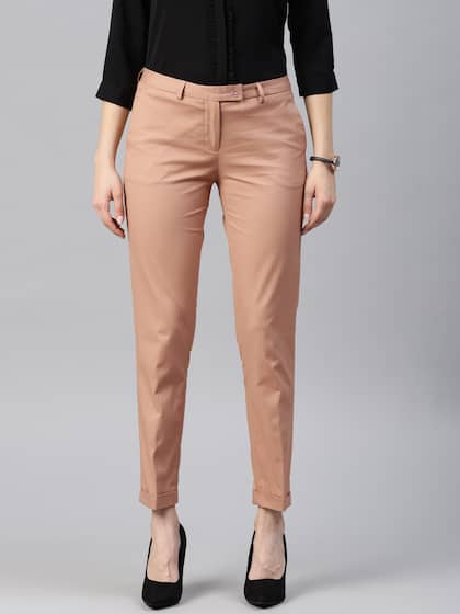 91cb468e4bfc4 Women's Trousers - Shop Online for Ladies Pants & Trousers in India ...